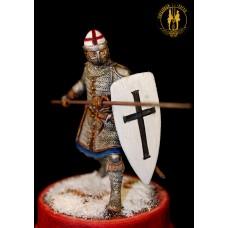 Орденский пеший сержант-копейщик 1-2 линии пешего построения 1242 г.