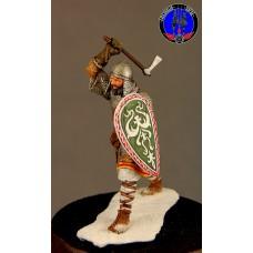 Воин новгородского ополчения 1242 г