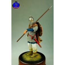 Русский воин 10-11 века