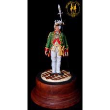 Офицер Сухопутного Шляхетского Кадетского Корпуса  в 1761-1762 г. г. Россия.