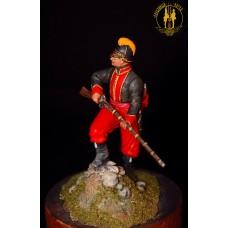 Унтер офицер 1 батальона Греческого пех. полка.Россия. 1779-1796 г.
