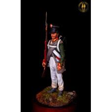 Унтер офицер пехоты 1812 г. Россия.