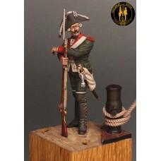 Гренадёр морских батальонов (1,2,3, 4-ого) Балтийского флота 1766 -1787 г.