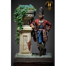 Офицер фузилеров 1722 (голштинские роты) Россия