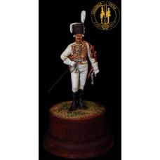 Обер-офицер Лейб-гусарского полка 1799 г.