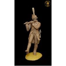 Флейщик Лейб-батальона Л-Гв. Преображенского полка 1800-1801