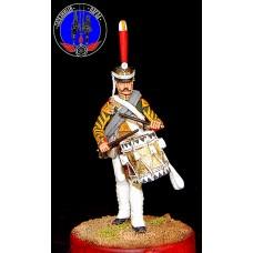 Ротный барабанщик лейб гвардии Семёновского полка 1812 г.