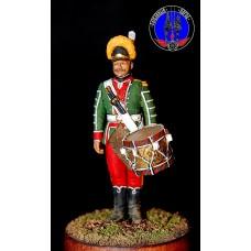 Барабанщик мушкетёрского полка, с 1786 по 1796 год. Россия