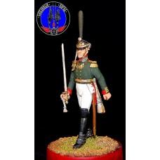 Батальонный командир , штаб офицер лейб гвардии Семёновского полка 1812 г.