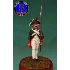 Гренадёр (мушкетёр) Преображенского или Семёновского полка 1799 г.-1800 г.