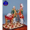 Обер офицер и сержант Лейб-компании 1742-1762 г.г.