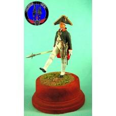 Обер офицер гвардии 1797 г. Россия. (Преображенский и Семёновский полки)