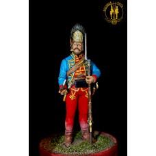 Гренадёр Новомиргородского гарнизона или Пандурского полка 1756-63 г.г