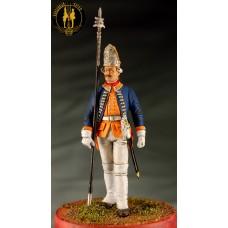 Унтер офицер Голштинского артиллерийского батальона 1756-61 г.г