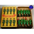 Солдатики столбики (Цветная роспись)