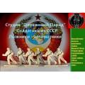 Солдатики лыжники армии СССР (Цветная роспись)