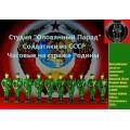 Солдатики часовые армии СССР (Цветная роспись)