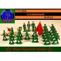 Парад красной армии с оркестром  (Цветная роспись)