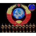 Солдатики часовые армии СССР (Золотой цвет)